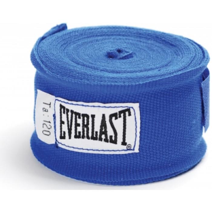 Боксерские бинты Everlast Hand Wraps Blue 3 м